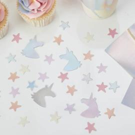 """Unicorn Sparkle Babyshower"" confetti"
