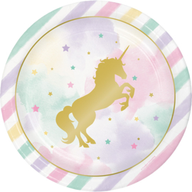 """Unicorn Sparkle"" lunch bordjes"
