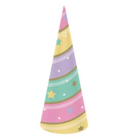 """""""Unicorn Sparkle"""" feesthoedjes"""