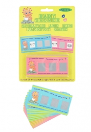 Babyshower kraskaarten