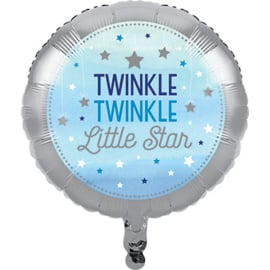 Twinkle Twinkle Little Star Folie Ballon (leeg!)