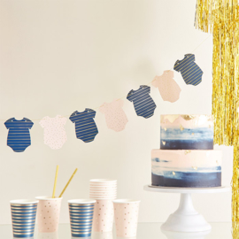 """My Gender Reveal Party"" rompertjes slinger"