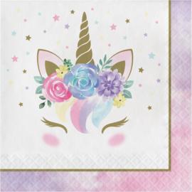 """Unicorn Baby"" lunch servetten"