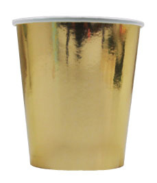 """Glittering Gold"" drinkbekers"