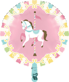 """Carousel Babyshower"""" folie ballon (leeg!)"