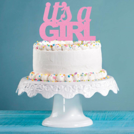 """It's A Girl"" taarttopper"