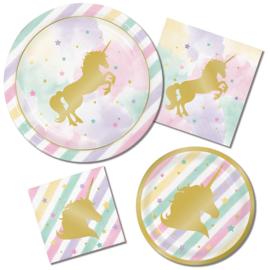 """""""Unicorn Sparkle"""" lunch bordjes"""