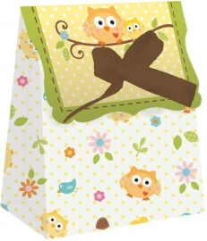 """Happi Tree Babyshower"" 12 goody bags"