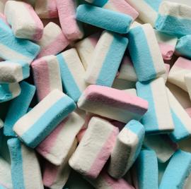 Roze/ blauwe spekblokjes - 200 gram