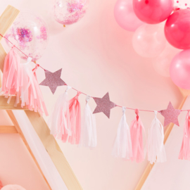 """Little Star"" slinger met tassels"