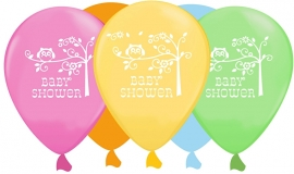 """Happi Tree Babyshower"" latex ballonnen"