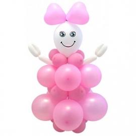 DIY Ballon Set Baby Girl