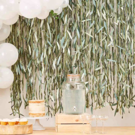 "Backdrop bladeren ""Botanical Babyshower"""