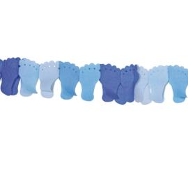 Voetjes slinger blauw