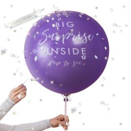 """Big Surprise""  XL Ballon"