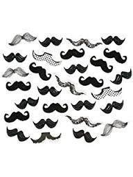 """""""Mustache Party"""" confetti"""