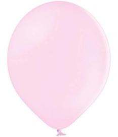 Baby roze ballonnen 10 stuks van 12,5 cm