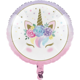 """Unicorn Baby"" folie ballon (leeg!)"