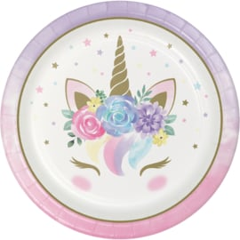"""Unicorn Baby' lunch bordjes"