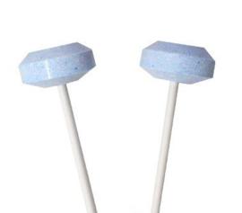 Blauwe  lollies circa 51 stuks (500 gram)
