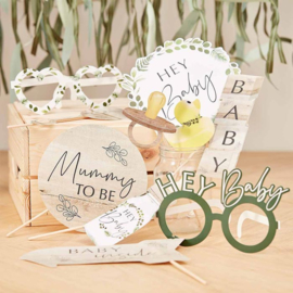 """Botanical Baby"" Party Photo Props"