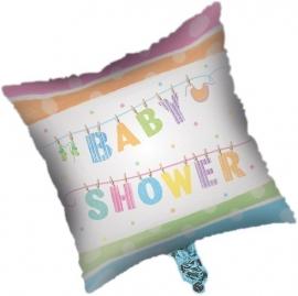 """Babyclothes Babyshower"" folie ballon (leeg!)"