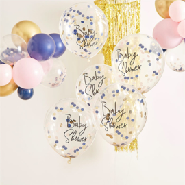 """My Gender Reveal Party"" confetti gevulde Babyshower confetti"