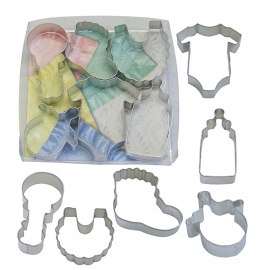 Baby Koekjes Uitstekers Set New Born (6 stuks)