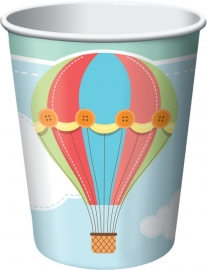 """Up, Up & Away"" drinkbekers"