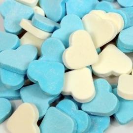 Blauw/witte Reuze Vruchtenharten 500 gram