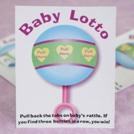 Babyshower loterij