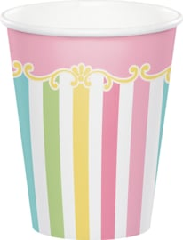 """Carousel Babyshower"""" drinkbekers"