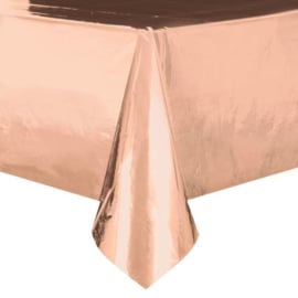 Rosé gouden tafelkleed 140 x 274