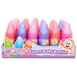 Babyflesjes gevuld met snoep poeder (24 stuks)