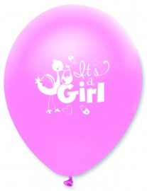 """It's A Girl"" ballonnen"