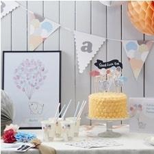 """Little One Babyshower"" Taart Decoratie Kit"