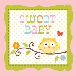 """""""Happi Tree Babyshower"""" girl gebak servetten"""