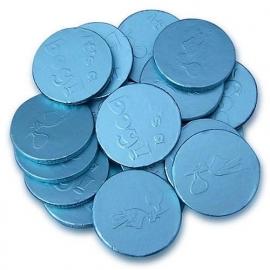 It's A Boy chocolade munten (circa 100 stuks)