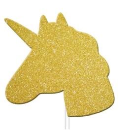 """Unicorn Sparkle"" cupcake prikkers"