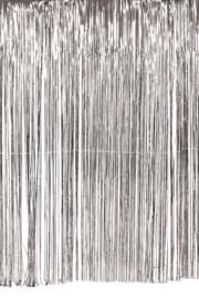 "Feestgordijn ""Sparkling Silver"""