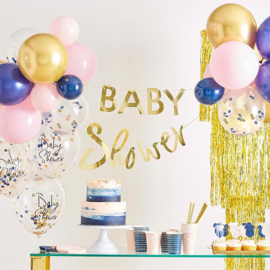 "Baby Shower slinger met ballonnen ""My Gender Reveal Party"""