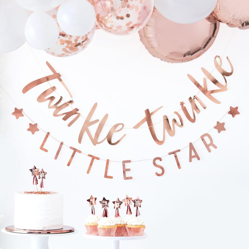 """""""Twinkle Twinkle Little Star"""" 2 delige slinger"""