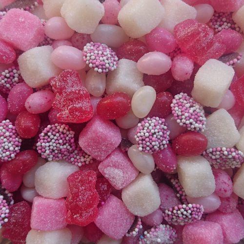Baby Tum Tum mix Roze - 450 gram