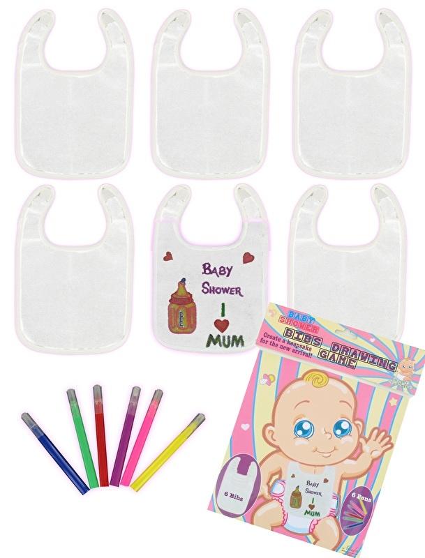 Baby Shower herinnerings slabbers