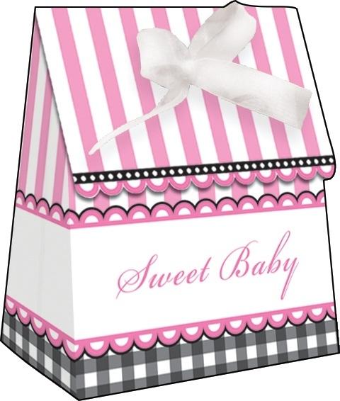 """""""Sweet Baby Feet Pink"""" goody bags"""