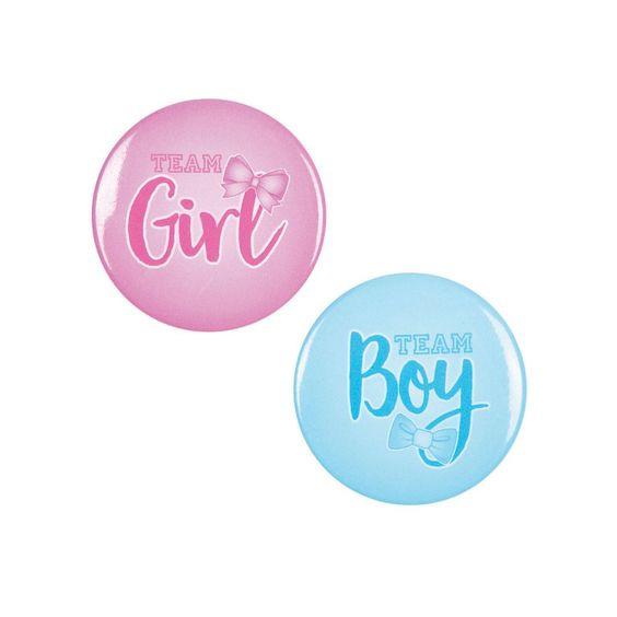 Gender Reveal badges spel