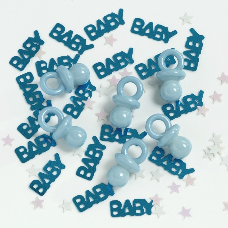 """Blue Baby"" Speentjes confetti"