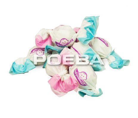 Gender Reveal snoepballen Roze - 250 gram
