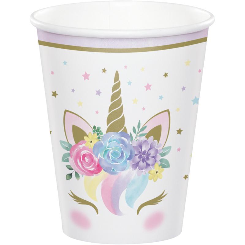 """""""Unicorn Baby"""" drinkbekers"""
