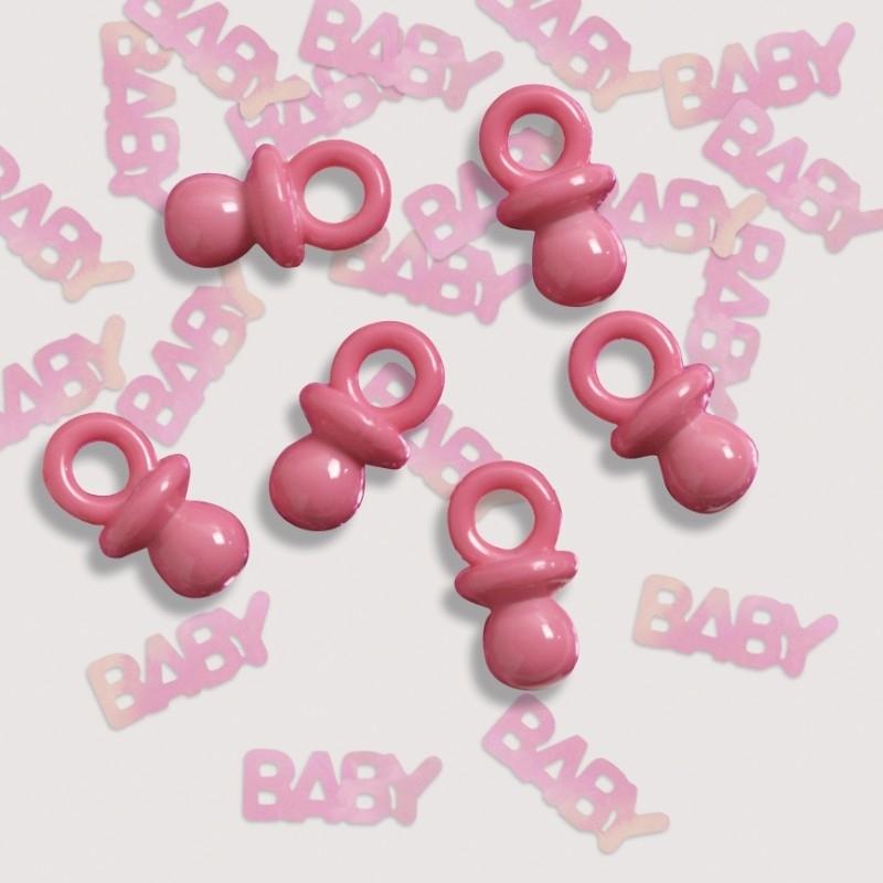 """Pink Baby"" Speentjes confetti"